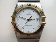 Omega Constellation – men's wristwatch – steel/gold – 1990s