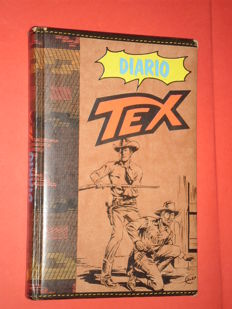 Tex - Day Book, with comics by Galep