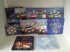 Europe - various year/coin packs 2002/2016 (11 items)