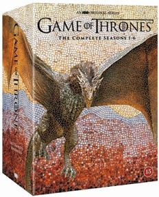 Game of Thrones Complete Seasons 1-6 DVD