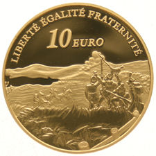 "France – 10 Euro 2005 ""Victory of Austerlitz"" – gold"
