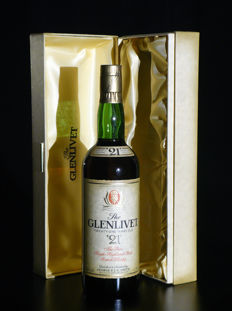 The Glenlivet 21 years old - bottled 20/1/1988