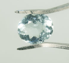 Aquamarine - 2,08 ct - No Reserve Price