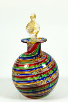 Livio Campanella (Campanella) - Filigree multicolour bottle