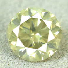 Diamant - 0.58 ct No Reserve Price