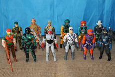 G.I. Joe Action Figures Collection.