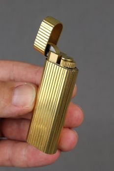 Cartier lighter - Gold plated