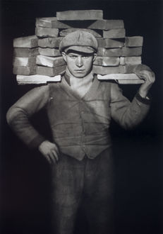 August Sander (1876-1964) - 'Bricklayer' ('Handlanger') - 1928