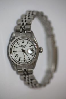 Rolex Oyster Perpetual Date – Women's wrist watch – from the 1990s