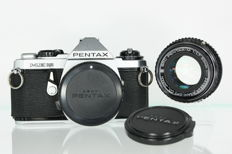 Pentax ME-Super with the very nice sensitive SMC Pentax-M 50 mm F1.7 ASAHI opt.. Co.