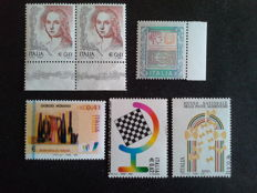 Republic of Italy - 2002-2006 - Lot of 5 varieties