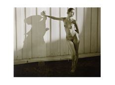 Art print ; Jock Sturges - Nude Woman Shadow - 2012