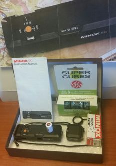 Minox EC camera with accessories, like new