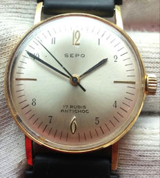 Sepo, unisex watch from the 1960s