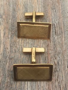 Yellow gold, vintage cufflinks.