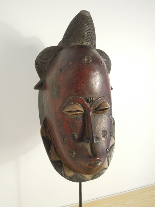 Happy mask - BAULE - Ivory Coast