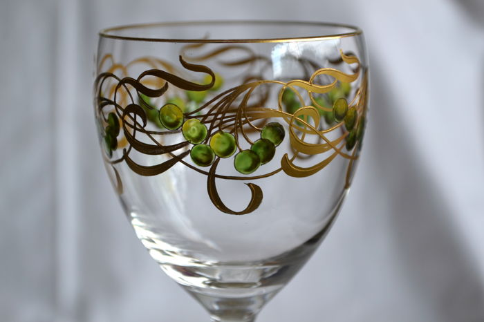 Jugendstil Stem Glass