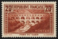 France 1929 – Pont du Gard – Yvert No. 262