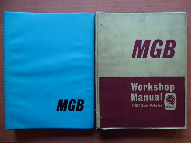 1964 - 1970 - M.G.B. 1800 - Lot of 2 original workshop in english