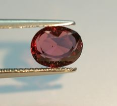 Rhodolite Garnet,  purplish-red  , 2.23ct