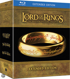 Lord of the Rings Trilogy Extended Bluray