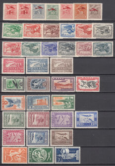 Greece 1933/1954 – Lot of aerial mail stamps