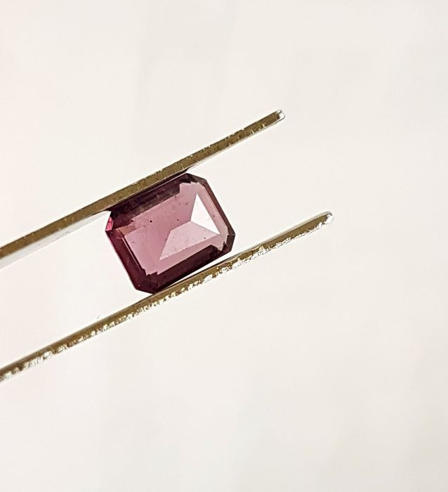 Pinkish Purple Spinel – 1.98 ct – GIA Certified