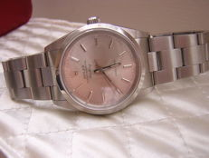Rolex Air King 34mm ref 14000 Automatic Silver Dial Sapphire Crystal circa 2000