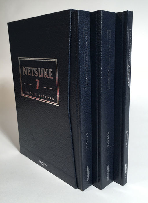 Arlette Katchen - NETSUKE 7 – 3 volumes - K-R Publishers – Paris – 2010