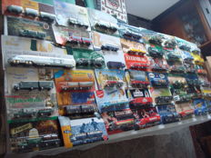 Collection - brewery trucks, advertising trucks, some vintage trucks and special editions, in original packaging, 91 parts - 1997/2006