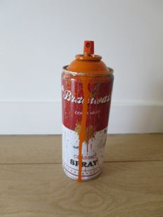 Mr Brainwash - Spray Can (Orange)
