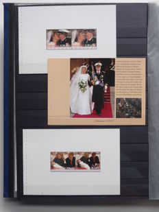 The Netherlands 2003/2010 - Collection of 123 sheets in stock book
