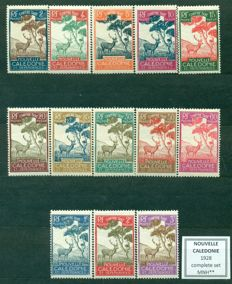 Colonies and Former French Colonies, 1928-1975 - collection of 43 complete series