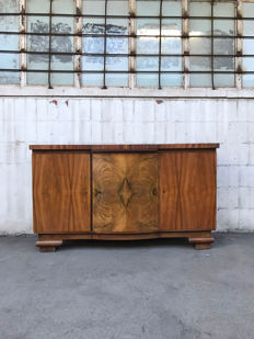 An unknown designer - a chest of drawers in the Art Deco style