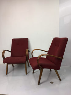 An unknown design - Two armchairs