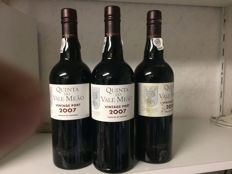 2007 Vintage Port Quinta do Vale Meao - 3 flessen