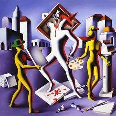 Mark Kostabi - Production Squeeze
