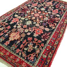 Hamadan Sarough - Iran - 216 x 119 cm - ¨Vintage - Lavishly decorated Persian carpet¨ - Second  half previous century
