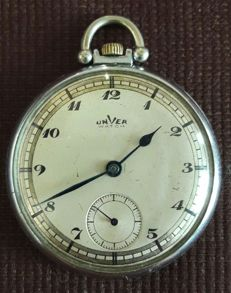 Unver Watch Co. by Nicola Gizzarelli - Rome Italy - Art Deco pocket watch