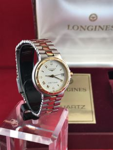 Longines – women's – Titanium and 18 kt gold