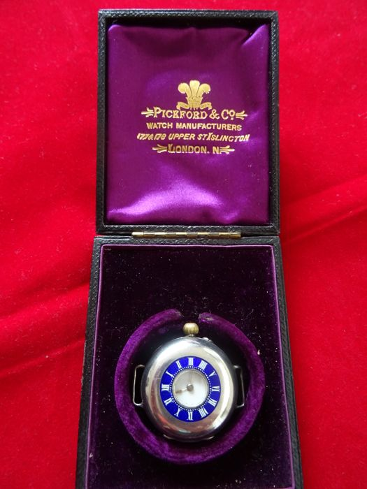 Marriage watch in box Pickford & Co London, 1902/1910