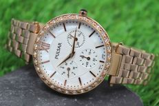 Pulsar Ladies – Rose Gold & Swarovski Crystal Watch – unworn