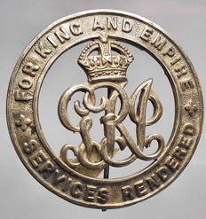 UK. World War I badge