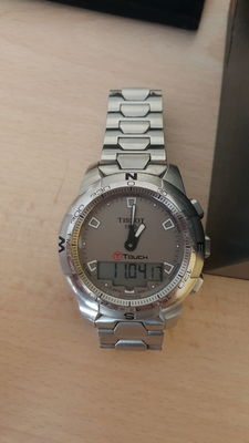 Tissot T-Touch – Men's wristwatch – 2011.