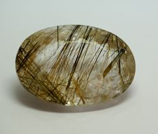 Rutilated Quartz - 104.12 ct