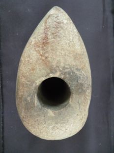 Neolithic stone battle hammer - 80 mm