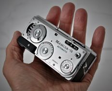1959  Mamiya-16 Automatic  Sub-miniature Camera.