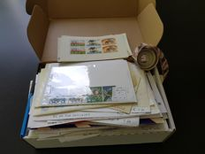 Netherlands and Overseas – Box full of stamps, blocks and various
