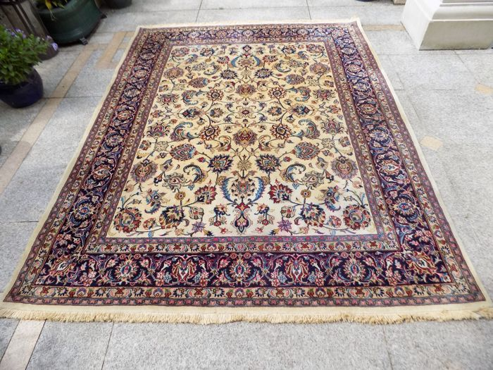 Original & beautiful Persian Iran Kashmar 250x192 cm  handknotted Top Condition & Quality with certificate