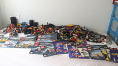 Lego Technic 10.8 kg with 2.6 kg booklets
